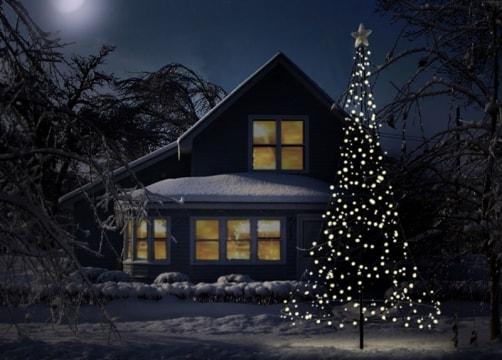 Fairybell vlaggenmast kerstboom