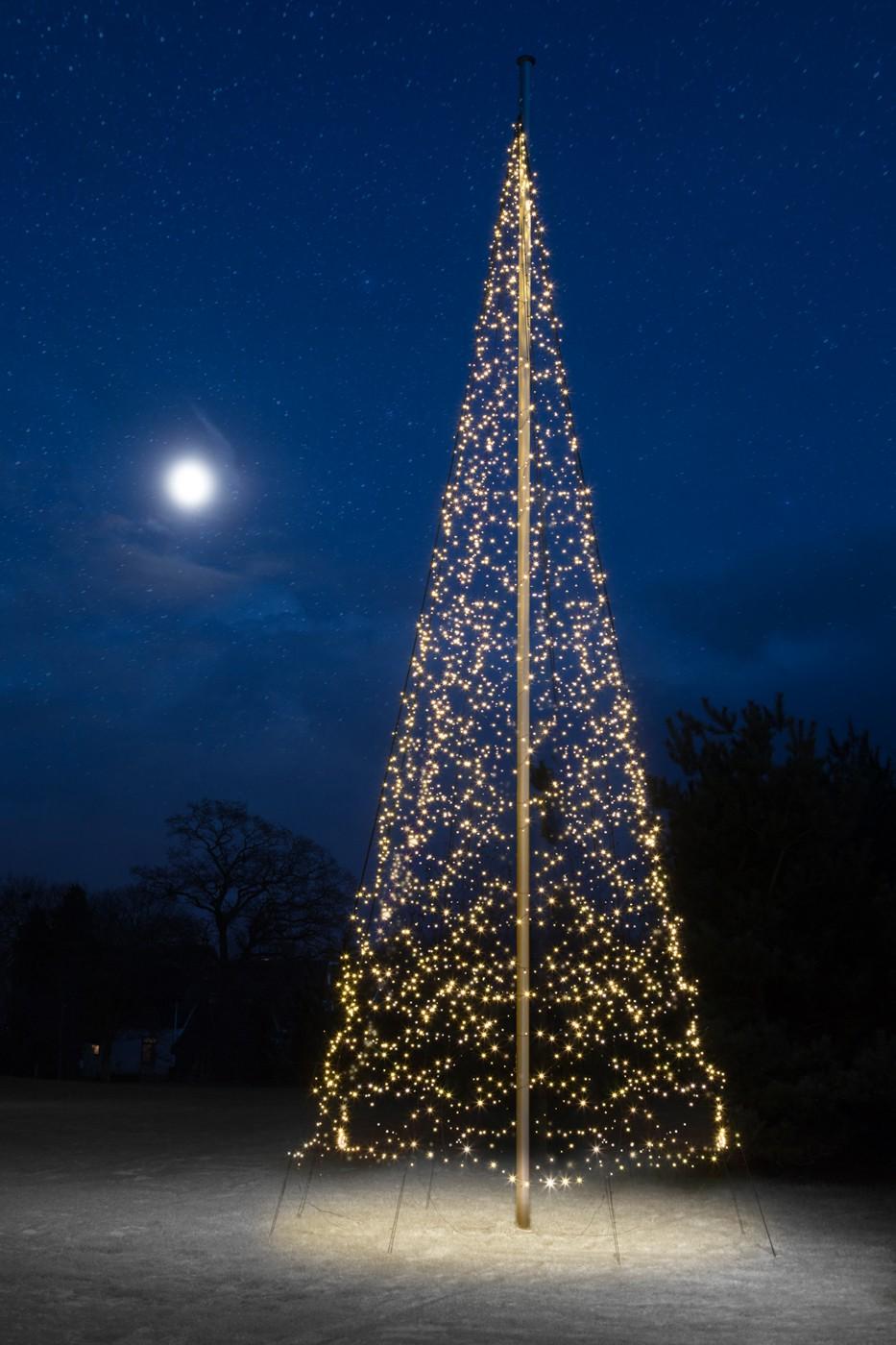 Fairybell 4000 Led Kerstboom Voor In Een 10 12 Meter Vlaggenmast