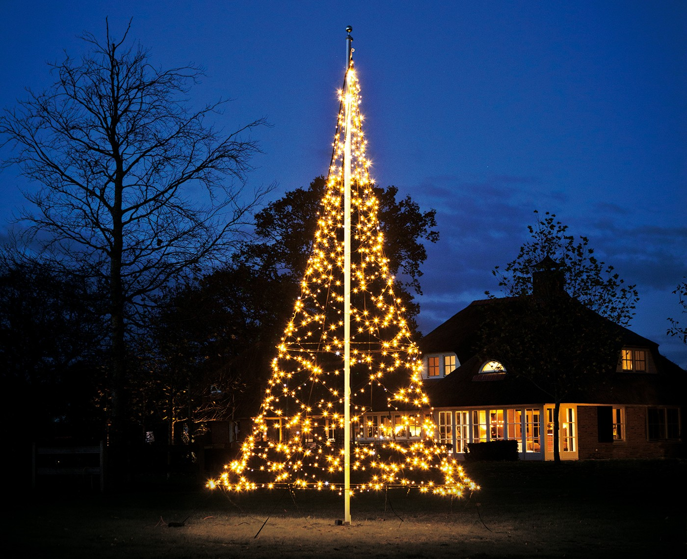 Vlaggenmast kerstboom kopen? Kies voor Fairybell