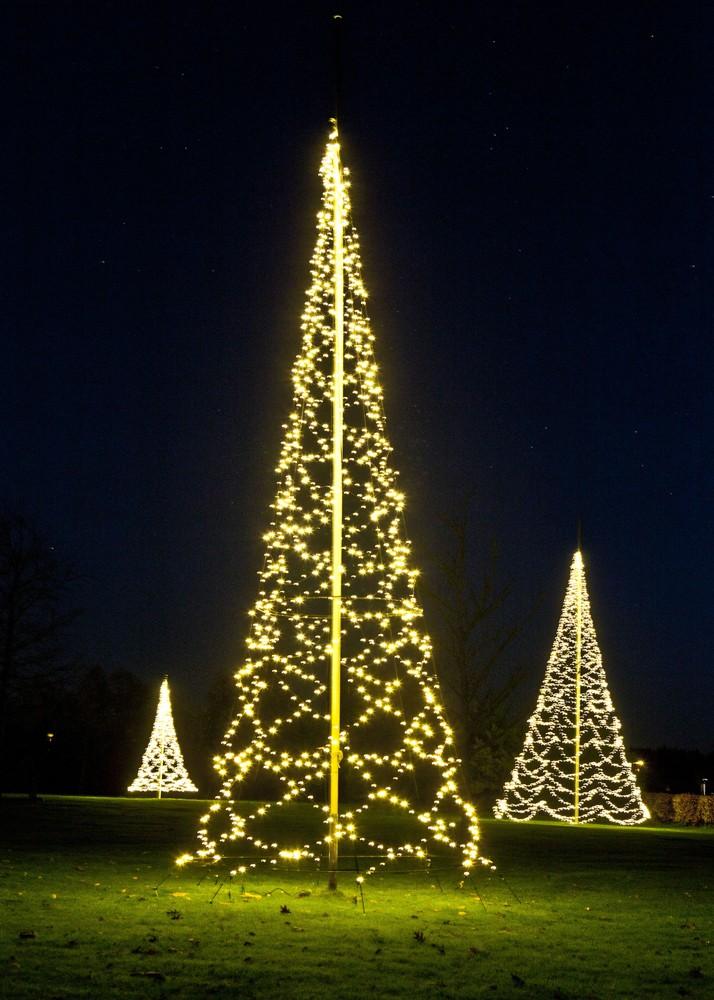 Fairybell 1200 led kerstboom voor in een 8 of 9 meter mast - Fairybell led weihnachtsbaum ...