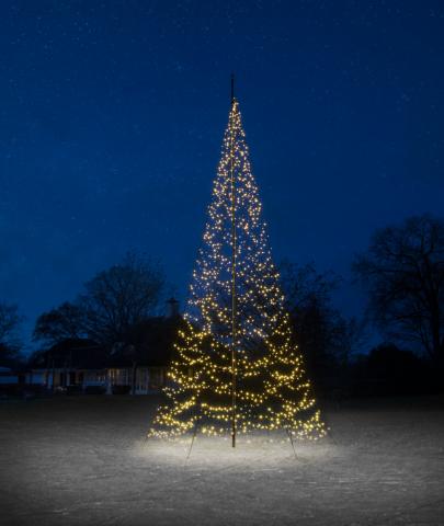 Fairybell vlaggenmast kerstverlichting 800 cm 1500 led twinkel