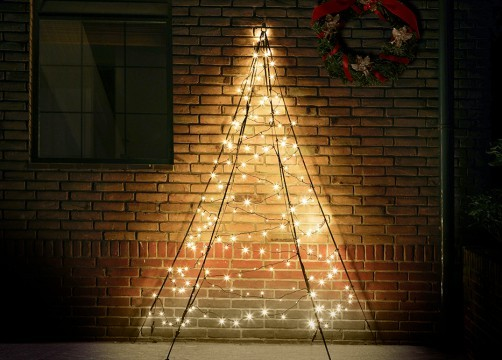 Fairybell Wall muurkerstboom 200 cm 180 leds