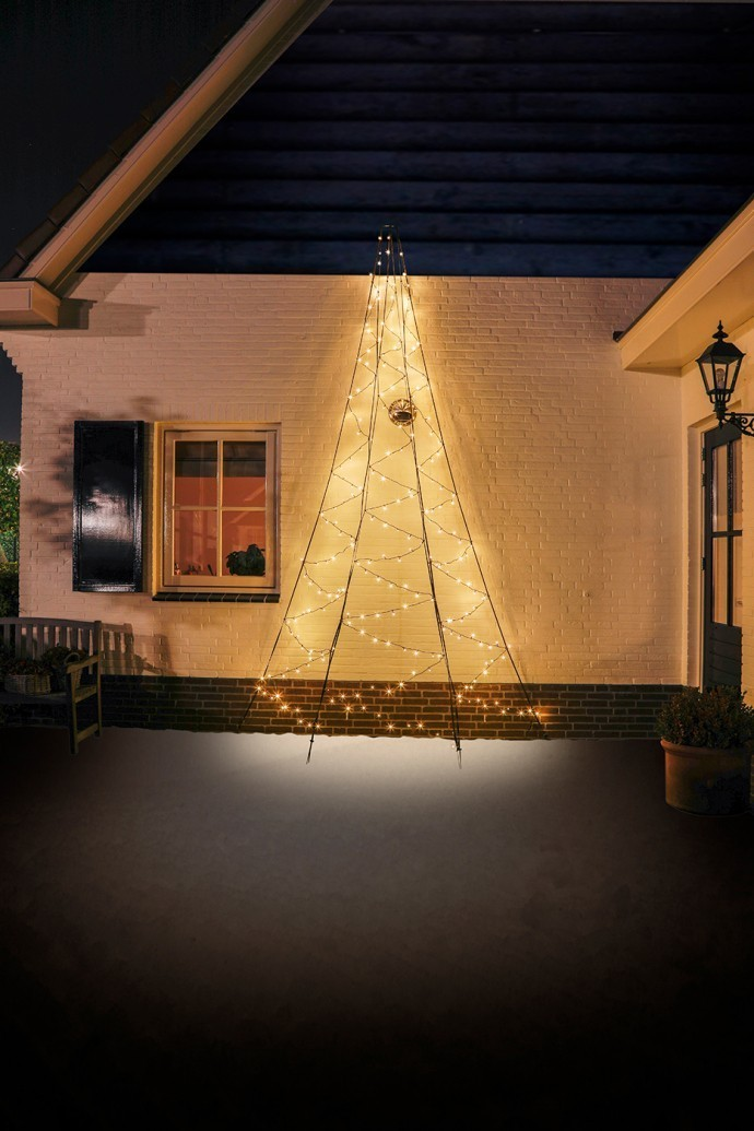 Fairybell Wall muurkerstboom 400 cm 240 leds