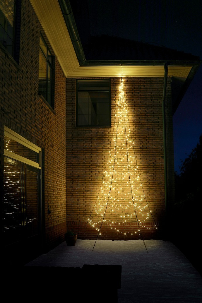 Fairybell Wall muurkerstboom 600 cm 450 leds