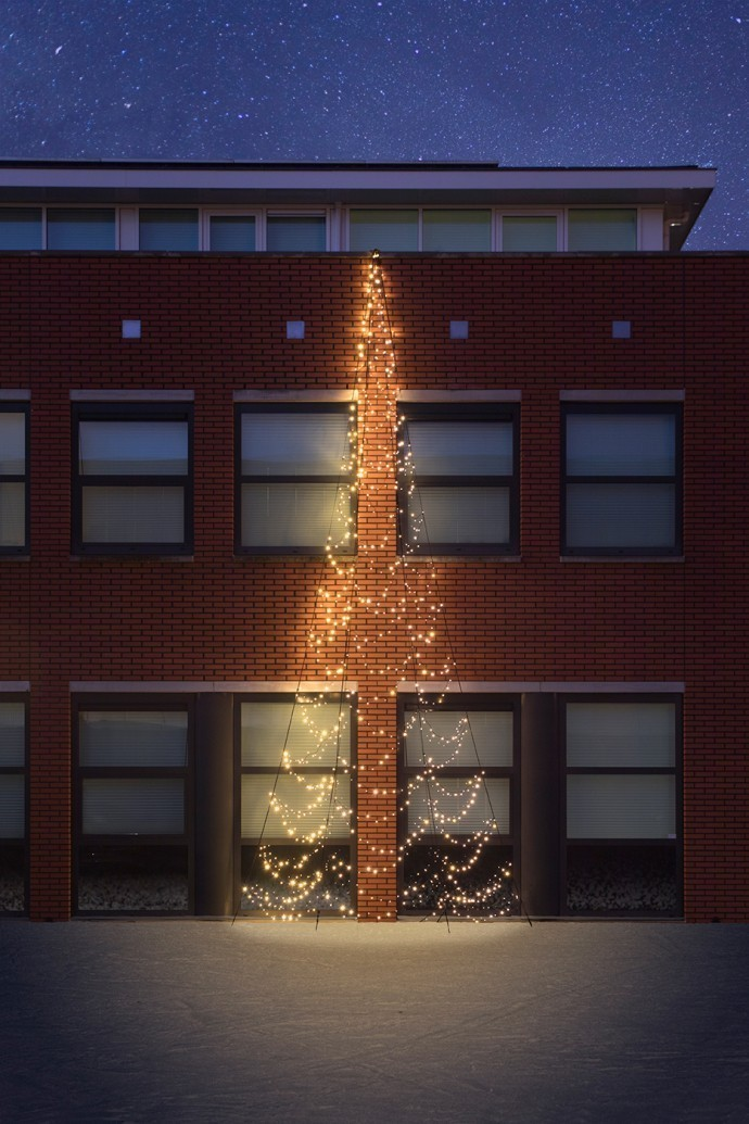 Fairybell Wall muurkerstboom 800 cm 750 leds